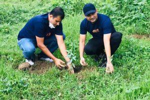 विश्व वातावण दिवसको अवसरमा पथरी जेसिज द्वारा बृक्षारोपण