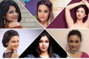पुजा शर्मा र साम्राज्ञीको पक्षमा ६ अभिनेत्री
