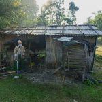 बेलबारी जेसिजले बनाईदिने भयो असाहय,बृद्धा मगर दम्पत्तिको घर (तस्विरहरु सहित)