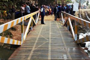बेलबारीमा पनि निर्माण भयो सेल्फी पुल