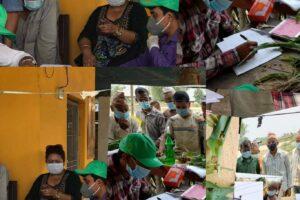 बाली उपचार शिविर संचालन भएपछि बेलबारीका किसानहरु उत्साहित