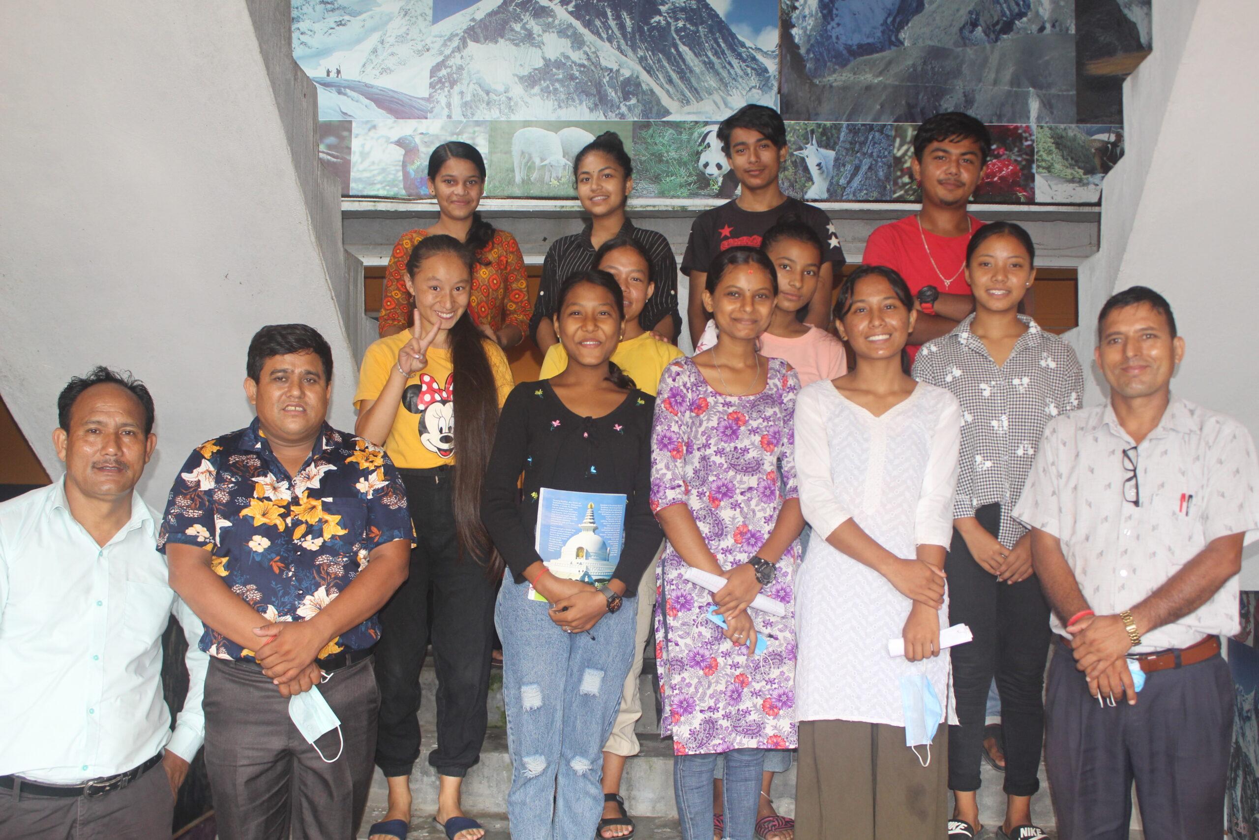 शिक्षा सन्देशमा पुवोत्तर मोरङमै पहिलोपटक कानुन बिषयको पढाई (तस्विरहरु सहित)
